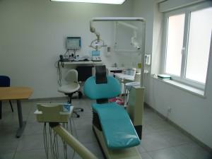 Fauteuil de soins d'orthodontie